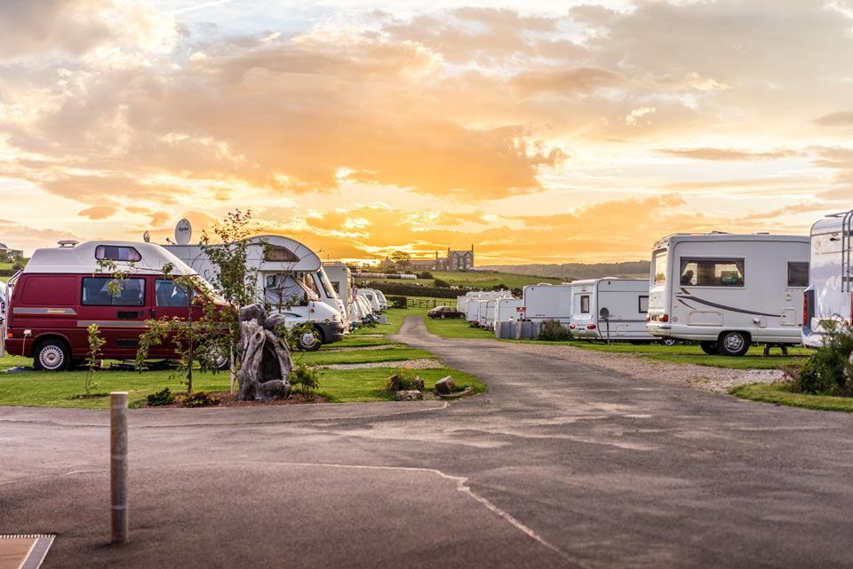 Sandfield House Farm, touring caravan park in Whitby