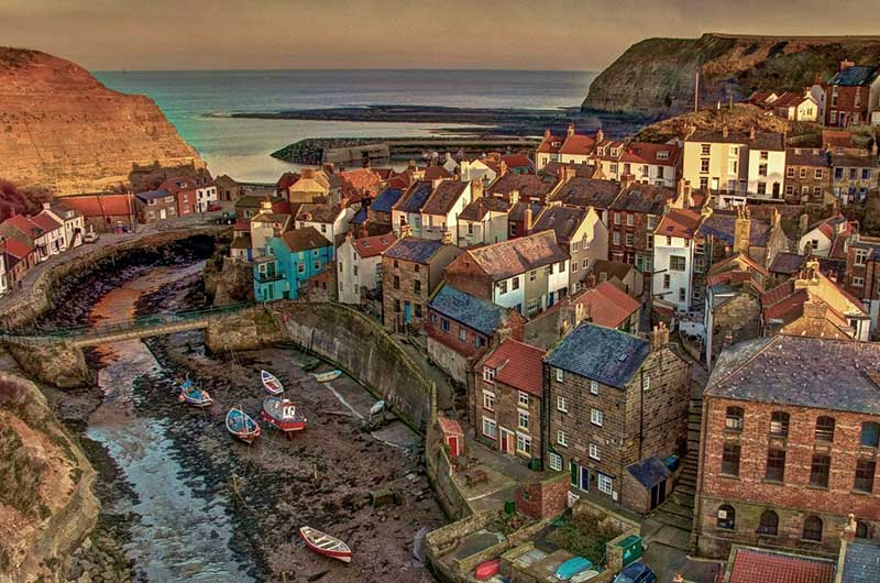 Staithes webcam