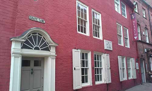 Captain Cook Memorial Museum in Whitby