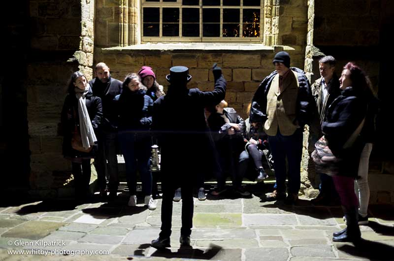 Whitby Ghost Walks with award winning, Rose Rylands Walks and Tours