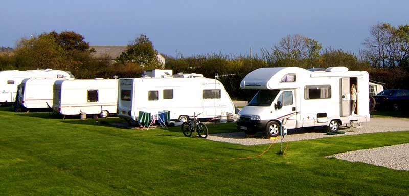 Touring Caravans & Motorhomes at Middlewood Farm