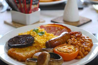 Riviera Guest House Breakfast