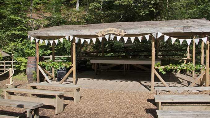 Falling Foss Tea Garden Weddings