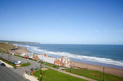 Whitby bed and breakfast with sea views