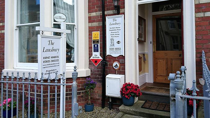 The Lansbury Guest House Whitby