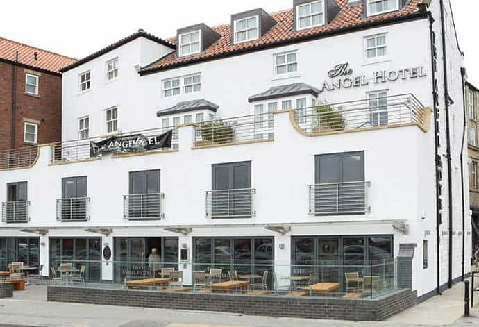 The Angel Hotel in Whitby, North Yorkshire