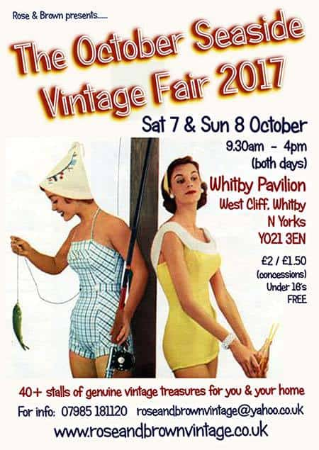 Whitby Seaside Vintage Fair
