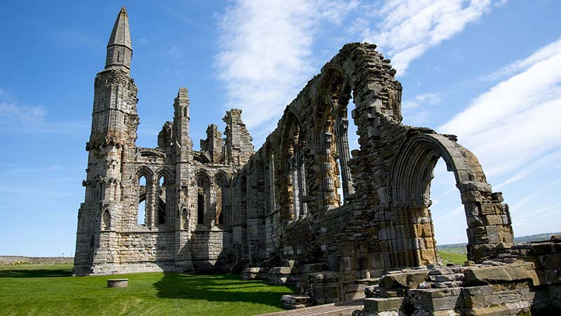 Whitby Abbey is offers a glimpse into the rich history of Whitby