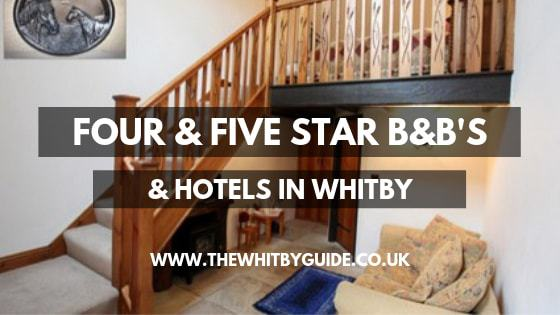 Four & five star B&B's & Hotels in Whitby - Header