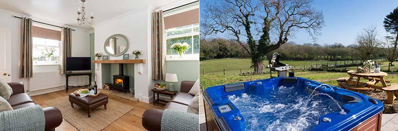 Hayburn Beck Farmhouse with Hot Tub nr Whitby