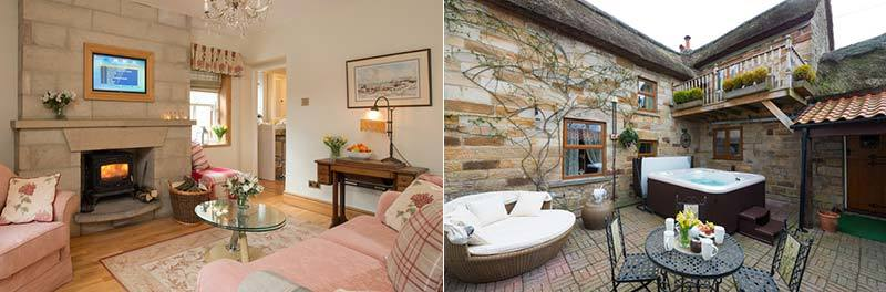 Sunnybank Thatch Cottage with Hot Tub