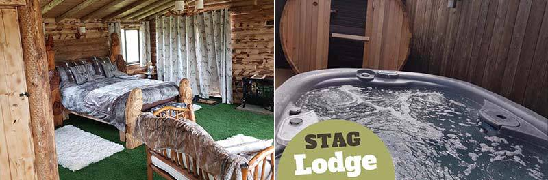 Stag Lodge with Hot Tub in Whitby