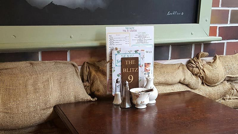 The Blitz Cafe in Whitby