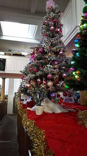 St Mary's Church Christmas Tree Festival Whitby