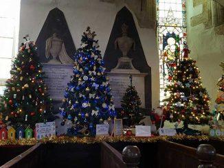 St Mary's Church Christmas Tree Festival 2017
