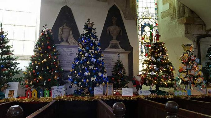 St Mary's Church Christmas Tree Festival 2017