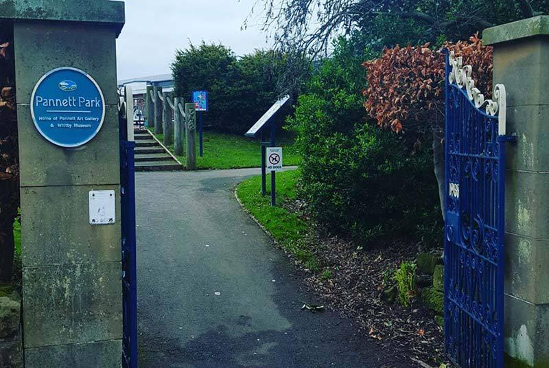 Pannett Park Entrance