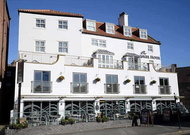 The Angel Hotel pub with accommodation in Whitby