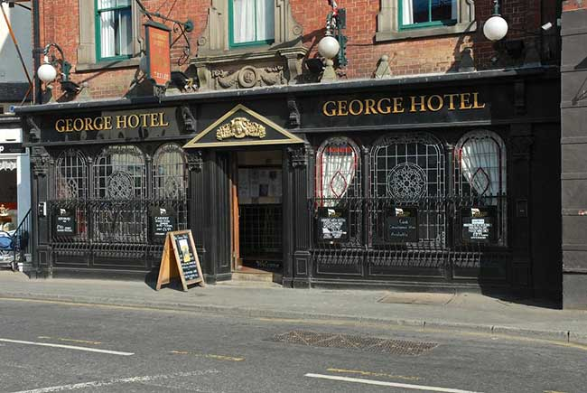 The George Hotel in Whitby