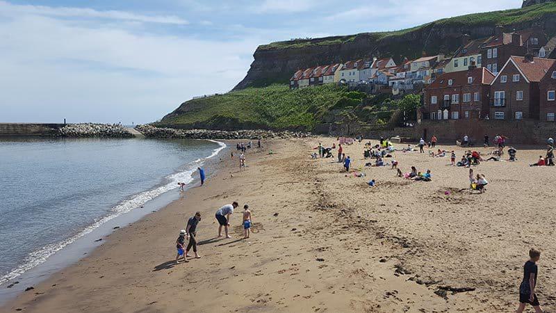 Whitby Tate Hill Beach