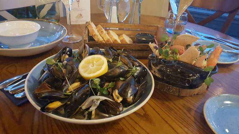 The Star Inn The Harbour Whitby Mussels