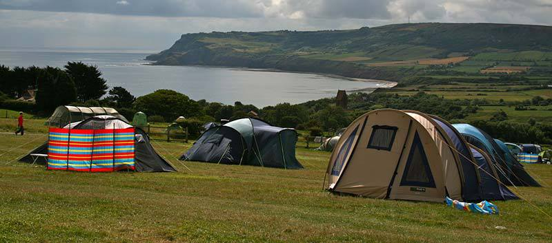 Robin Hoods Bay Camping at Hooks House Farm