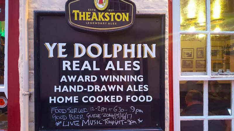 Ye Dolphin; Robin Hoods Bay Pub