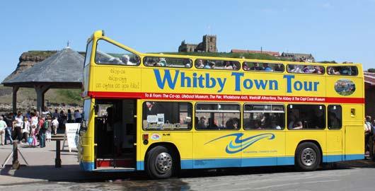 Whitby Town Open Top Bus Tour