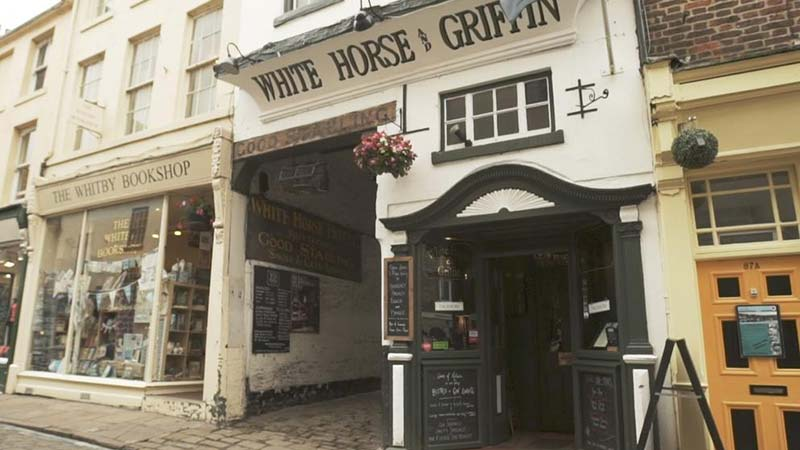 Whitby Pubs with accommodation include The White Horse and Griffin