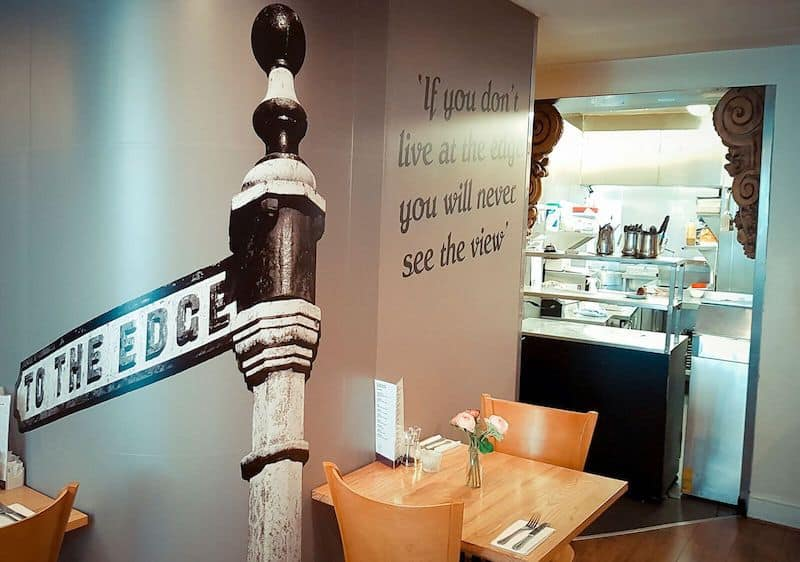 The Edge Restaurant in Whitby; Life on The Edge...