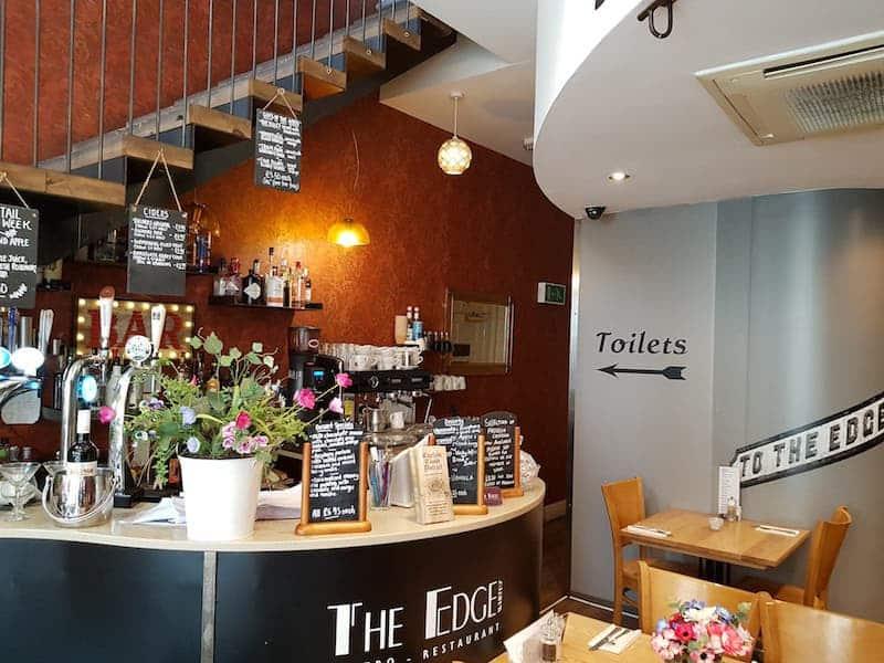 The Edge Restaurant in Whitby