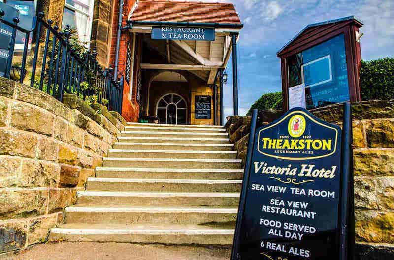 The Victoria Hotel; A fine example of Robin Hoods Bay pubs