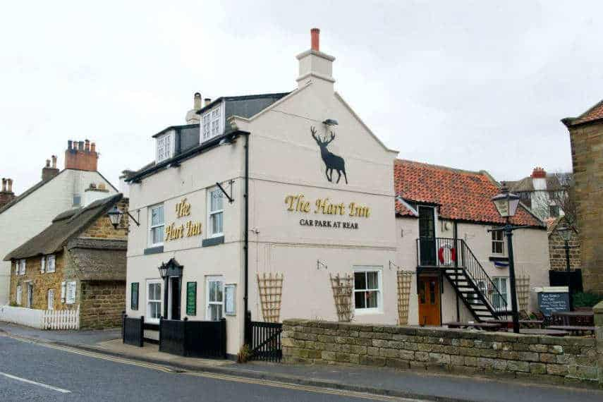 The Hart Inn; A Sandsend Pub with parking