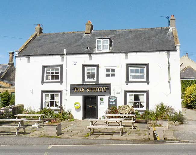 The Stiddy Pub in Sandsend