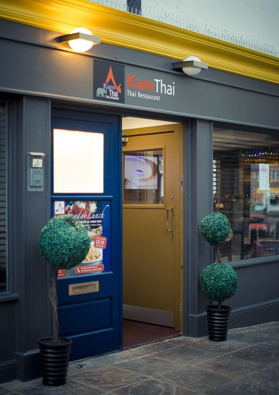 Kam Thai Review; Whitby Restaurant Review