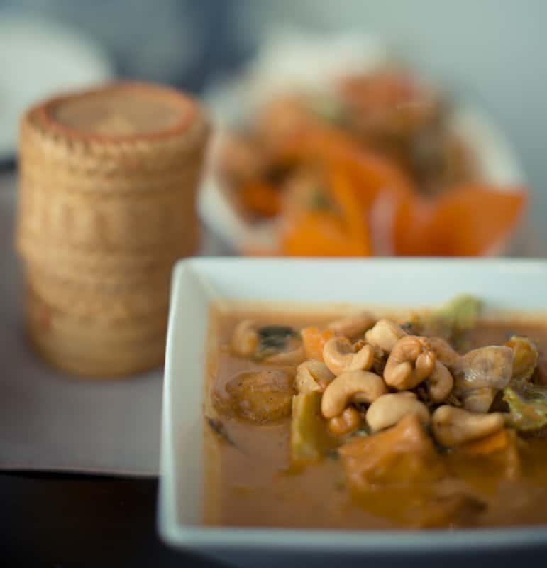 Tofu Massaman at Kam Thai