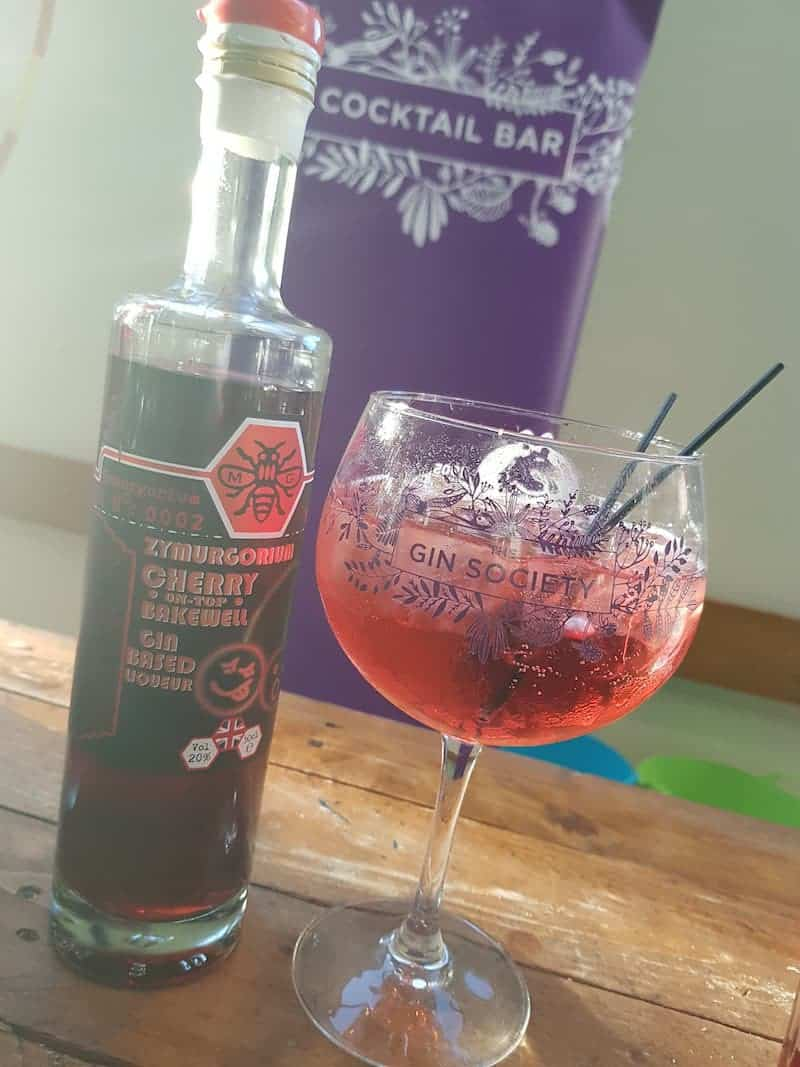 Zymurgorium Cherry Bakewell; Whitby Gin Festival