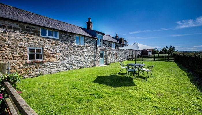Apple House garden; Apple Cottage - a Luxury Romantic Cottage near to Whitby