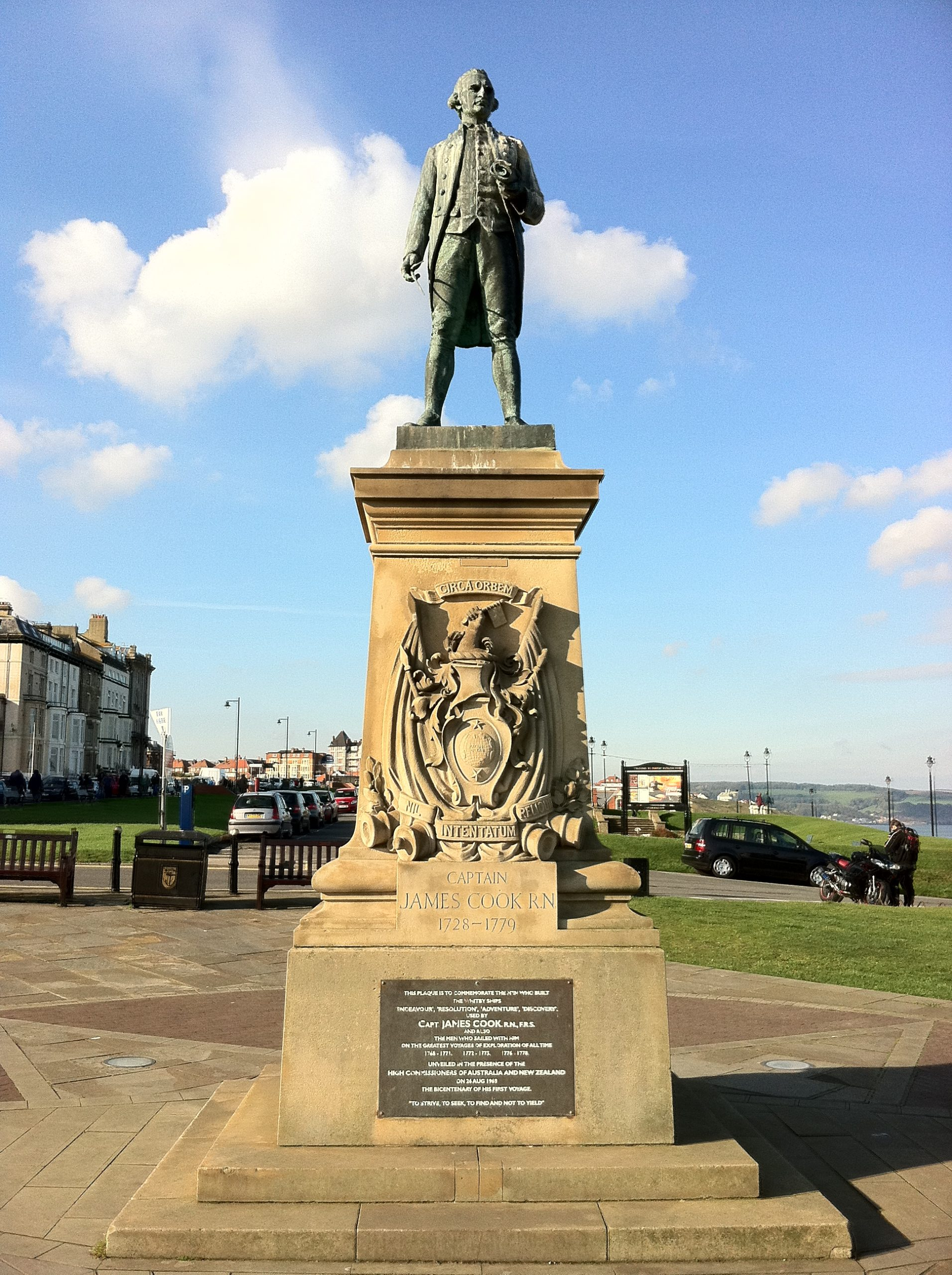 Captain Cook Monument in Whitby