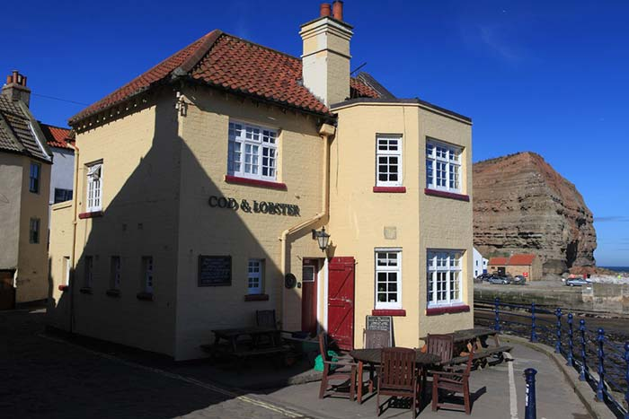 The Cod and Lobster Staithes Pub