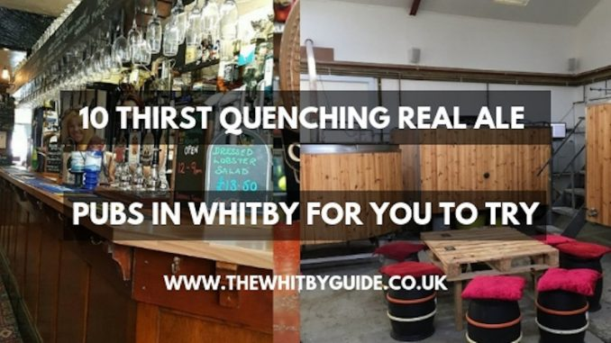 Real Ale Pubs in Whitby header