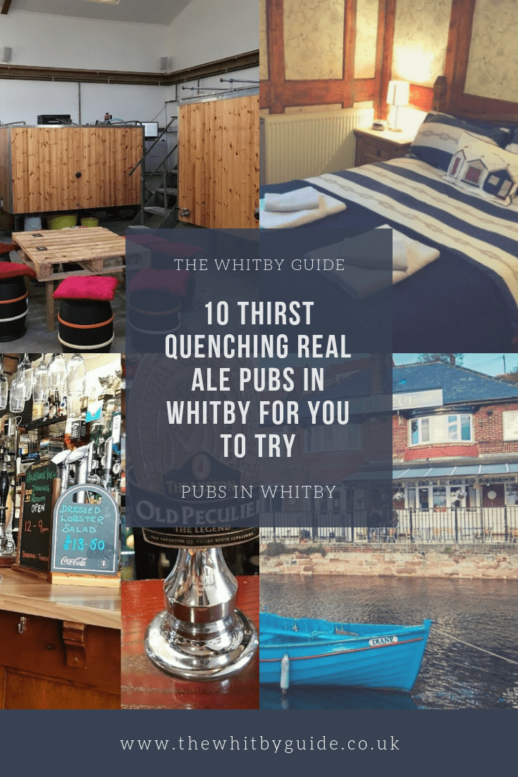 10 Thirst Quenching Real Ale Pubs in Whitby For You To Try