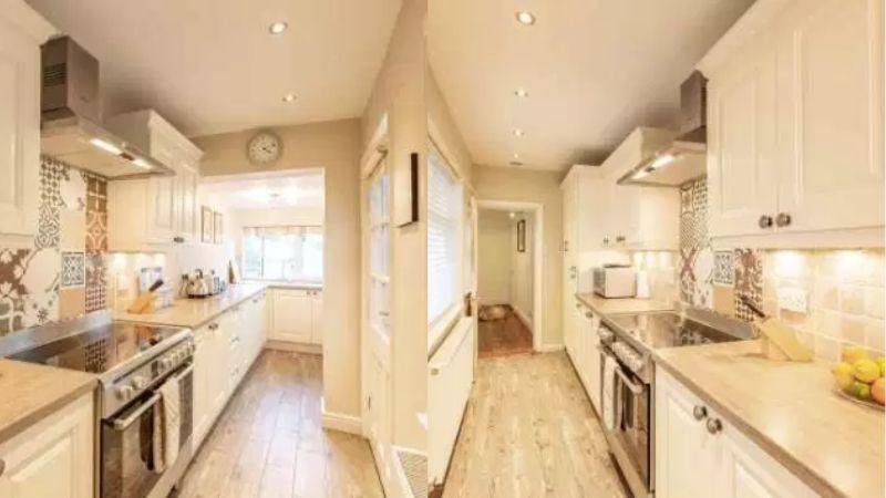 Ravenscraig House holiday cottage in Staithes kitchen