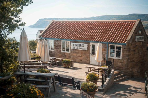 Things To Do In Robin Hoods Bay; Visit the Fish Box at the top of the village