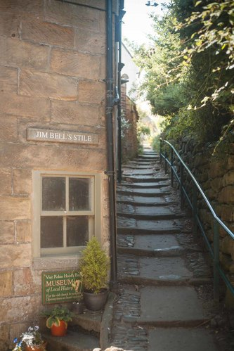 One Week in Robin Hoods Bay; Jim Bells Stile