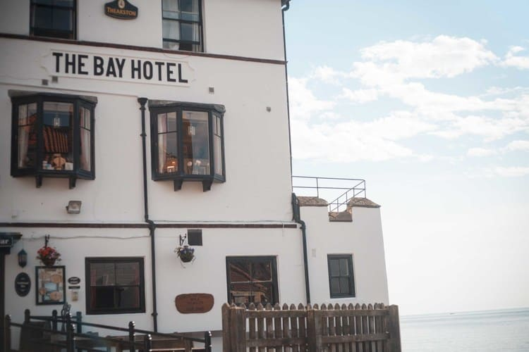 The Bay Hotel in Robin Hoods Bay