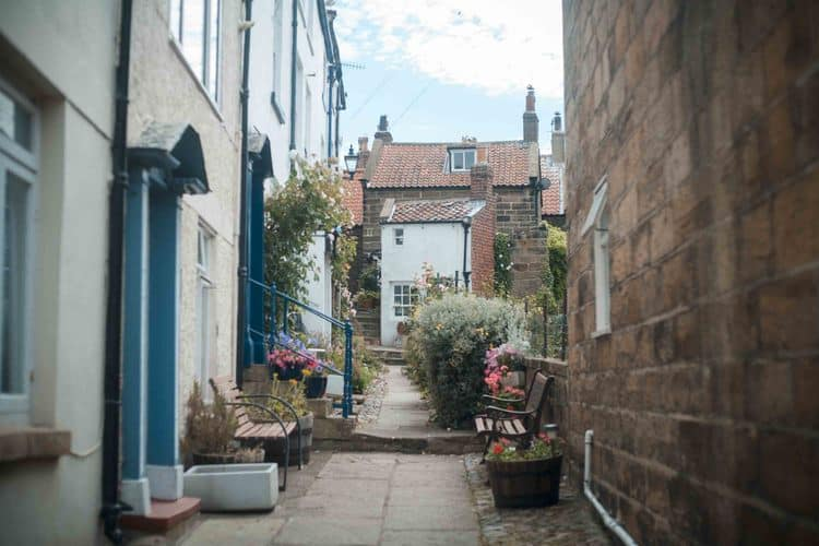 Lower Village in Robin Hoods Bay