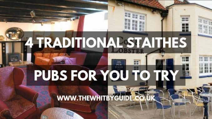 Traditional Fishermen's Pubs in Staithes