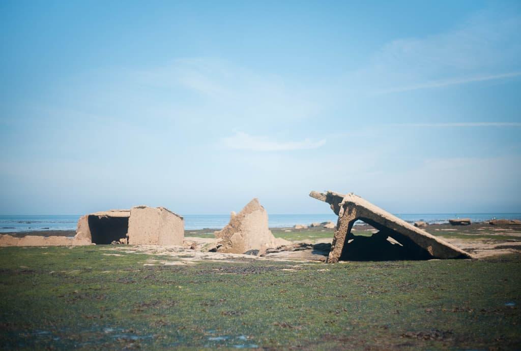 The MV Creteblock shipwreck at Whitby Scar