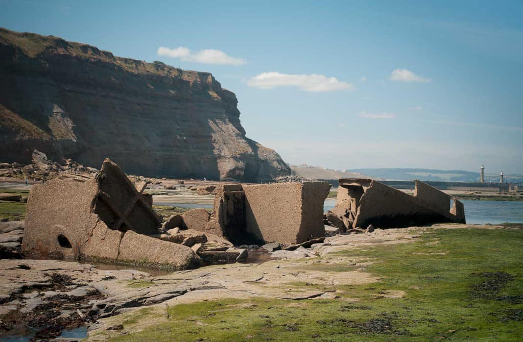 Check the tide times for your visit to the MV Creteblock shipwreck near Whitby beach